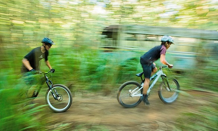 Bike Rental with Bike-Park Admission for One, Two, or Four from North Shore Explorers (Up to 55% Off)