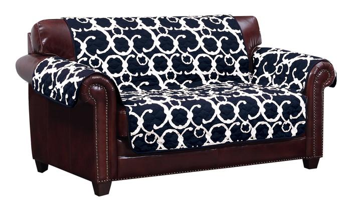 Charmant Rhys Reversible Water Resistant Furniture Slipcovers Rhys Reversible Water Resistant  Furniture Slipcovers ...