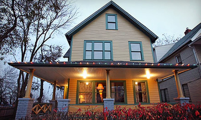 """""""A Christmas Story"""" House & Museum - Tremont: """"A Christmas Story"""" House & Museum Visit for Two or Four (Up to Half Off)"""