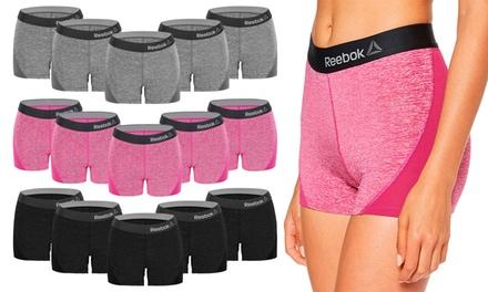 Pack de 5 shorts o culottes deportivos para mujer REEBOK