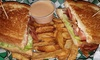Deals List: Burgers and Wings for Two at PJ's Pub (44% Off)