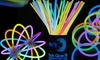 100 Glow Sticks with Connectors