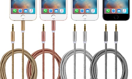 FX 3.5mm Aux-In Braided Cable