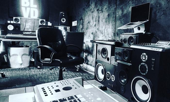 The Blvd Studios - Studio City: Two Hours of Recording-Studio Time from The Blvd Studios  (45% Off)