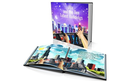 "Softcover or Hardcover ""Ten Tallest Buildings"" Personalized Kids' Story Book from Dinkleboo (Up to 65% Off) fb262989-cbdb-45cb-a496-4c806f963dd6"
