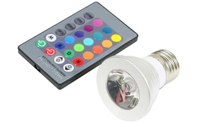 Magic Light Color-changing Led Light Bulbs With Remote Control (2-pack)