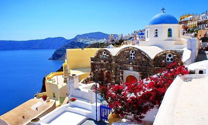 ✈Estate a Santorini 4*: volo A/R e 7 notti con colazione | Groupon ...