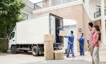 Two or Three Hours of Moving Services with Two Men and a Truck from American Budget Movers (Up to 54% Off)