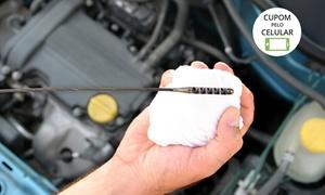 JMA Serviços Automotivos: JMA – Pq. Industrial: rodízio, check-up, injeção, alinhamento, balanceamento e bicos (com opção de troca de óleo)