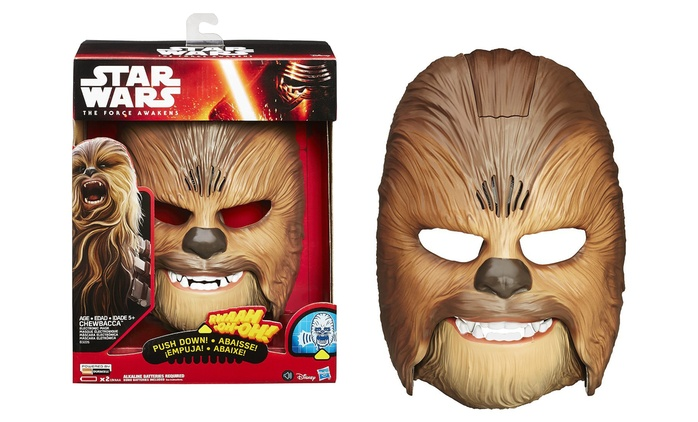 Star Wars The Force Awakens Chewbacca Electronic Mask for £27.98 With Free Delivery (20% Off)