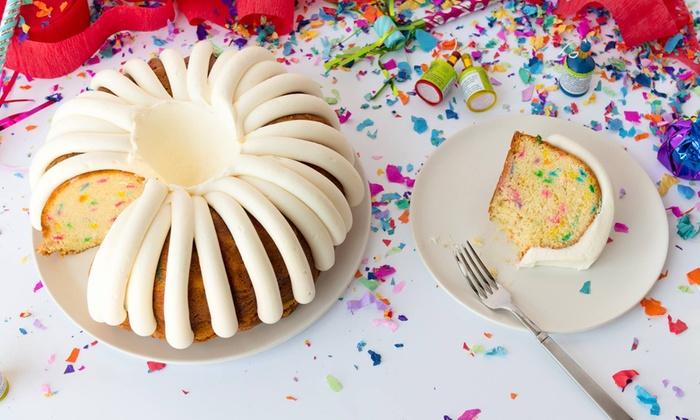 Baked Goods - Nothing Bundt Cakes   Groupon