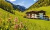 Südtirol: 1-7 Nächte inkl. 3/4 Pension, Skipass und Wellness