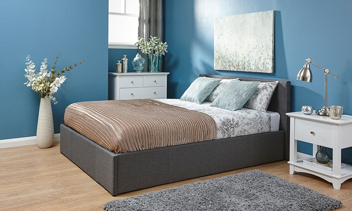 Small Double Ottoman Bed Groupon