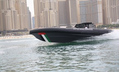 30-Minute Powerboat Experience: Child (AED 35) or Adult (AED 65)