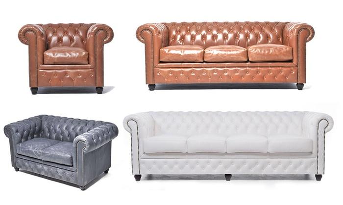 Brilliant Chesterfields In Vintage Kleuren Groupon Goods Lamtechconsult Wood Chair Design Ideas Lamtechconsultcom