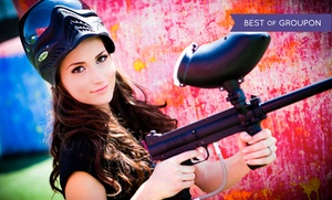 Paintball Tickets: All-Day Paintball with Equipment Rentals for Two, Five, or 10 from Paintball Tickets (Up to 82% Off)