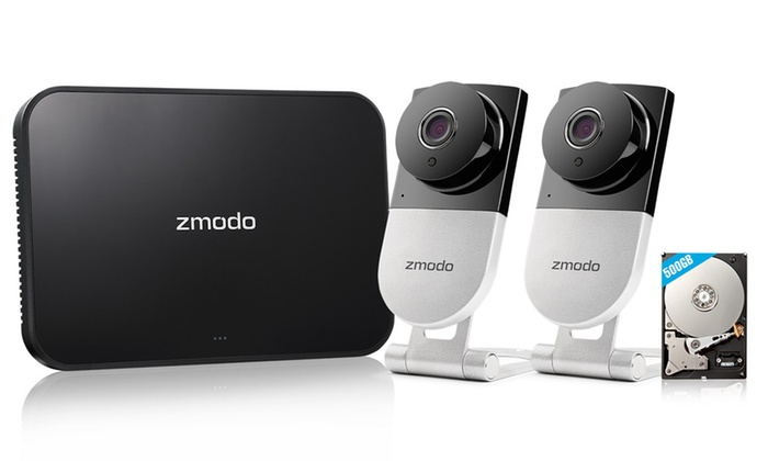 Zmodo 720p HD Wireless IP Camera Home Security System   Groupon