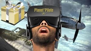 Planet'Pilote: Simulation avec casque de réalité virtuelle et mission au choix pour 1, 2 ou 3 personnes dès 29,90 € chez Planet'Pilote