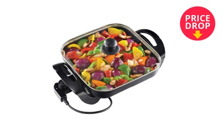 Salton 1500 Watts Square Electric Frying Pan Including Delivery