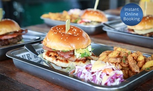 Beef and Barley: $25 for $40 or $50 for $100 to Spend on Burgers and Beer at Beef and Barley