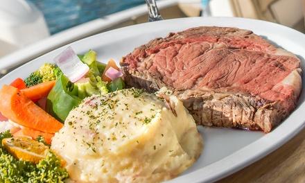 Seafood-Focused American Fare for Lunch or Dinner at Bahia Cabana Beach Resort Marina Restaurant & Bar (41% Off)