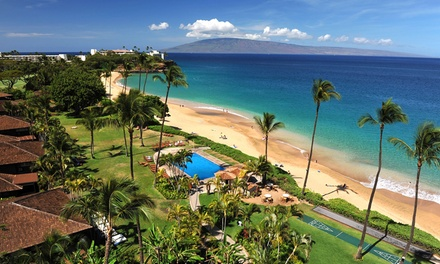 4-Night Stay for Two in a Deluxe Ocean-View Room at 3.5-Star Royal Lahaina Resort in Maui, HI