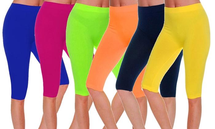 Gilbin's Women's Seamless Shorts (6-Pack)