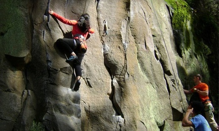 Stone Free Climbing - Corbett: Four-Hour Guided Rock Climb for One or Two from Stone Free Climbing (Up to 53% Off)