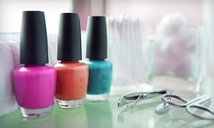 Marimarshe Salon - South Loop: One or Two No-Chip Manicures and Regular Pedicures at Marimarshe Salon (Up to 61% Off)