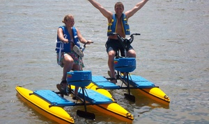 Sea Serpent Tours: One-Hour Hydrobike Rental for One, Two, or Four People from Sea Serpent Tours (Up to 42% Off)