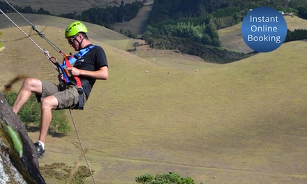 Three Hour Abseiling Experience for One ($59), Two ($115) or Four ($225) with Jump Off A Cliff (Up to $400 Value)