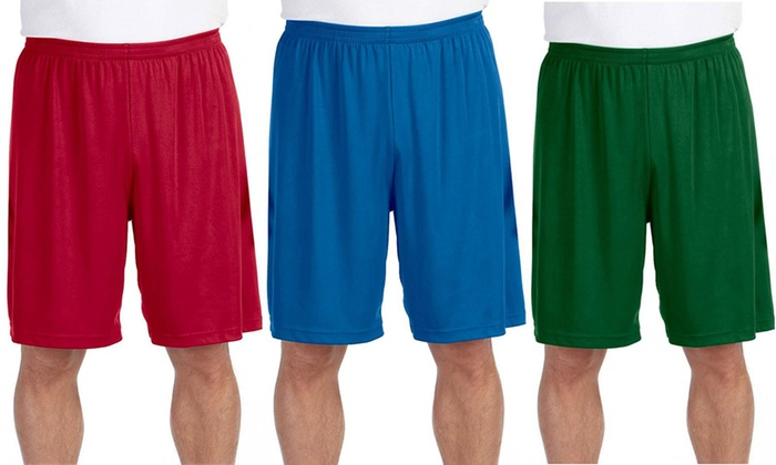 All Sport for Team Men's Performance Shorts (2-Pack)