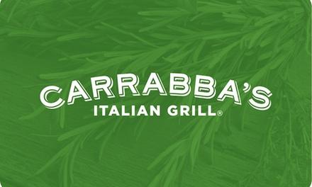 $50 eGift Card to Carrabba's ($6 Off)