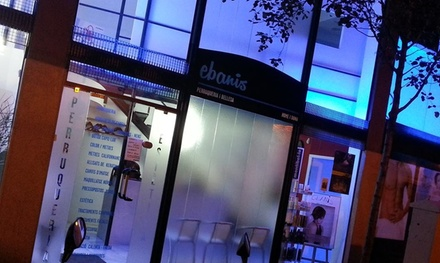 Sesión de peluquería con corte y opción a tinte y/o mechas desde 14,95 € en Peluquería Ebanis