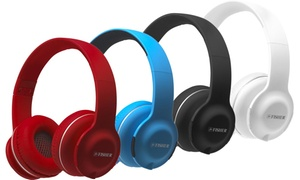 Fisher Lounge Wireless Bluetooth On-Ear Headphones with Mic