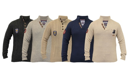 Men's Santa Monica Wool Mix Jumpers for £17.99