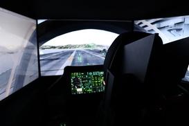 Simulateur d'avion de chasse Aix-en-Provence