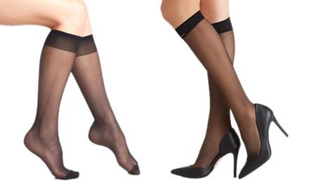 Three, Six or Nine Pairs of KneeHigh Socks