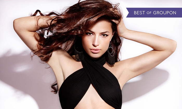 The LXS @ Centre Stage - The LXS @ Centre Stage: Cut and Blow-Dry with Deep Conditioning Treatment at The LXS @ Centre Stage (Up to 66% Off)