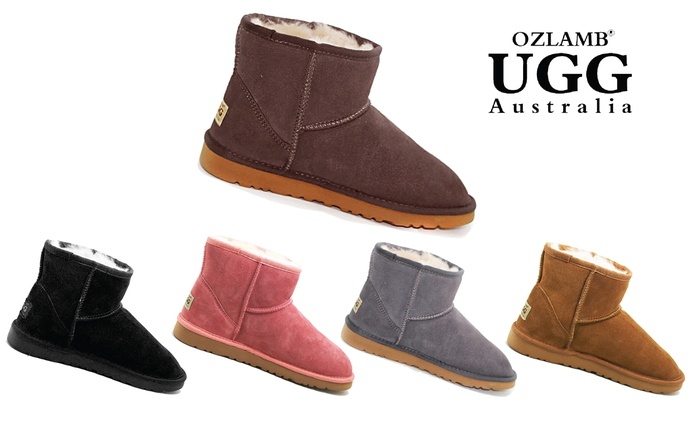 $59 for Ozlamb UGG Unisex Ankle Boots in a Range of Colours and Sizes (Don't Pay $199)