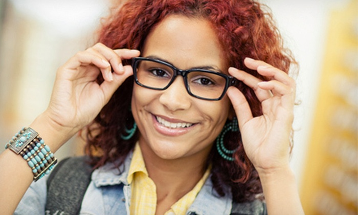 Mercy Eye Care - Multiple Locations: $49 for Eye Exam and $200 Toward Glasses at Mercy Eye Care ($285 Value)