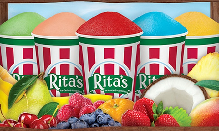 Rita's Italian Ice - Multiple Locations: $5 for Four Italian Ices at Rita's Italian Ice ($9.96 Value)