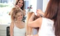 Damen- oder Herren-Haarschnitt mit Kopf-Massage, Waschen, Schneiden und Föhnen im Salon Chanti (bis zu 56% sparen*)