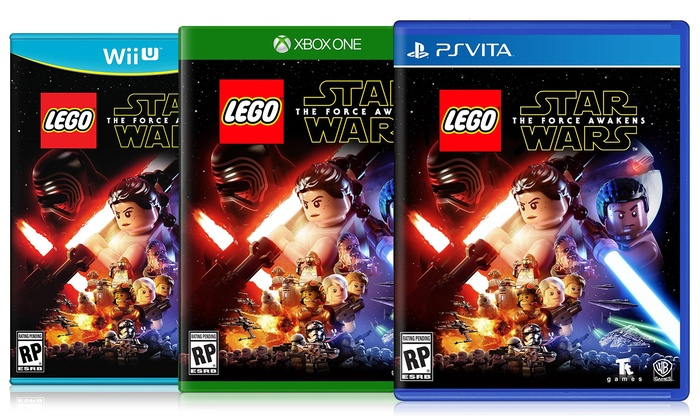 LEGO Star Wars: The Force Awakens for Nintendo 3DS, Wii U, PSVita, PS3, PS4, Xbox 360, and Xbox One