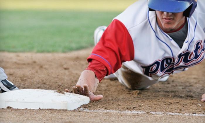 Stockton Ports - Banner Island Ballpark: Stockton Ports Baseball Game for Two or Four at Banner Island Ballpark (Half Off)