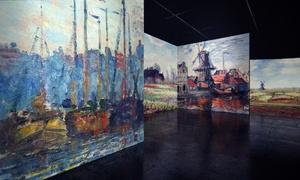 """Renaissance GmbH: 2 Karten für die große """"From Monet to Klimt"""" Ausstellung in der Zeitenströmung Dresden (bis zu 36% sparen)"""