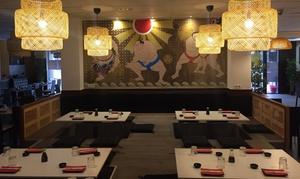 Sumo Sushi: Menú para 2 o 4 personas con entrante o postre, wok, piezas de sushi y bebida desde 19,95 € en Sumo Sushi