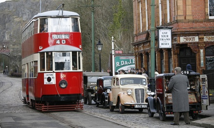 National Tramway Museum Entry for One, Two or a Family of Up to Five (27% Off)