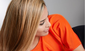 Judy's Hair Salon: Haircut and Style with Color, Partial Highlights, or Full Highlights at Judy's Hair Salon (Up to 55% Off)