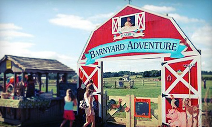 Harbes Family Farm & Vineyard - Mattituck: $9 for Barnyard Adventure for Two at Harbes Family Farm & Vineyard (Up to $19.90 Value)